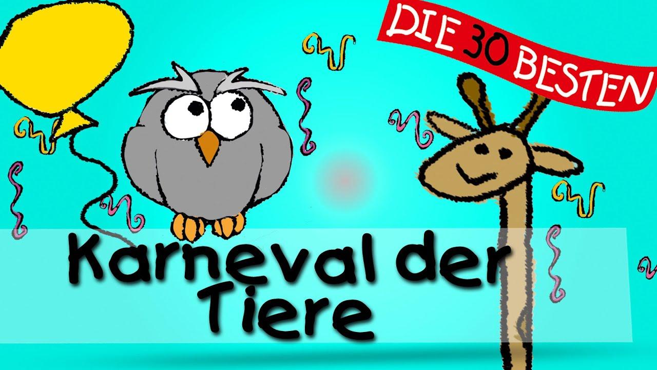 Karneval Der Tiere Die Besten Faschings Und Karnevalslieder