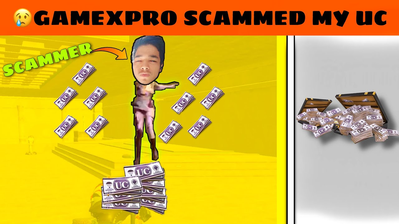 😭GameXpro scammed my 50***UC in a highest kills bet | OP Mrimay
