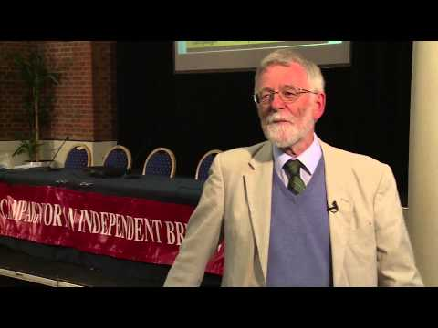 Rev Philip Foster at the CIB AGM, 2013