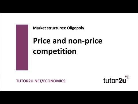 Oligopoly - Price And Non-Price Competition | Economics Revision