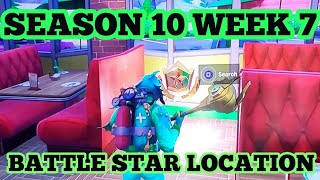 Fortnite Season X Week 7 Secret Battle Star Location Summer Slurp Loading Screen Secret Battle Star