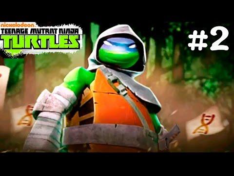 Черепашки Ниндзя.Черепашки ЛЕГЕНДЫ #2.Видео игры черепашки ниндзя.Teenage Mutant Ninja Turtles games