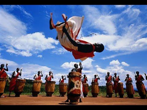 Les Tambourinaires du Burundi - Entrainement - Août 2018