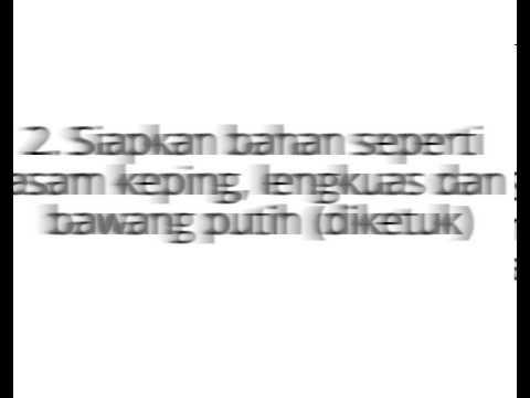 Resepi Ikan Singgang Kelantan Selera Ramai