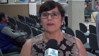 Sandra Bessa recebeu o Título de cidadã e falou dos avanços da Assistência Social em 2017