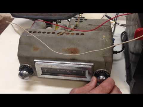1955, 1956 Chevy Radio - Works!