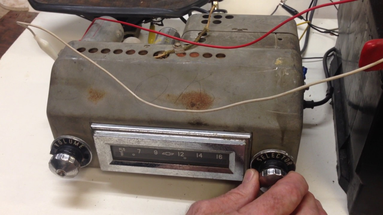 1955 Chevy Radio Wiring Reinvent Your Diagram 1957 Harness For Horn 1956 Works Rh Youtube Com