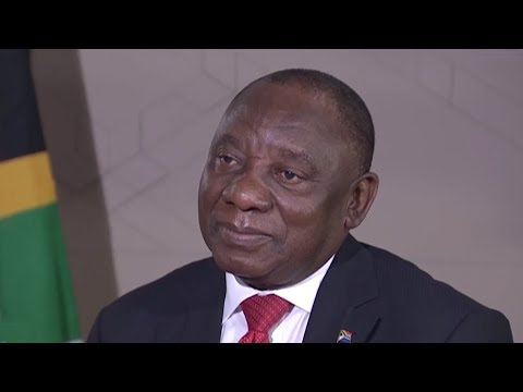 Exclusive: Interview with South African President Cyril Ramaphosa thumbnail