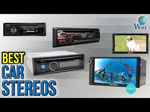 10 Best Car Stereos 2017
