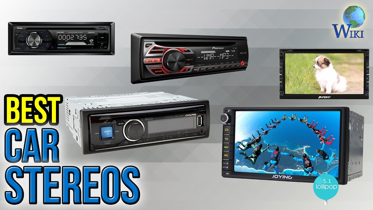 10 Best Car Stereos 2017 - YouTube