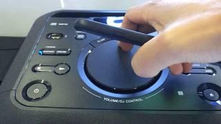 Test bass dàn âm thanh Sony MHCV11 công suất 430w giá 3tr3