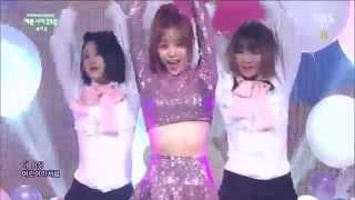 141019 송지은 Song Jieun PrettyAge 25 예쁜나이 25살 Inkigayo