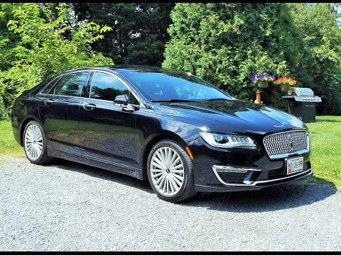 2017 Lincoln MKZ 2.0T Start Up, Full Tour and Review
