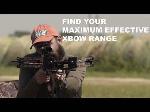 Find Your Maximum Range With A Crossbow
