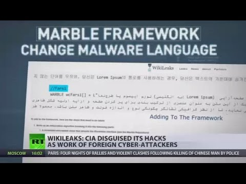 Vault 7: 'Marble' tool could mask CIA hacks as work of foreign cyber-attackers - WikiLeaks