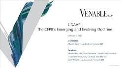 UDAAP: The CFPB