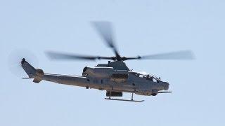 AH-1Z Viper landing at LAPD Helipad