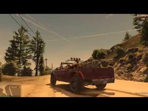 Climate Geo/Engineering in GTA V game