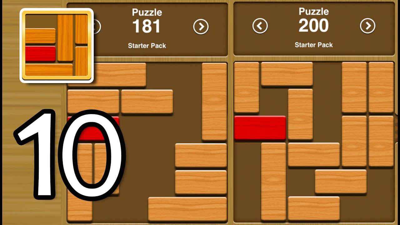 Unblock Me - Level 181-200 - Gameplay Walkthrough Part 10