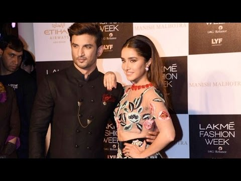 LFW 2016: Shraddha Kapoor And Sushant Singh Rajput Steal The Show In Manish Malhotra Creation!