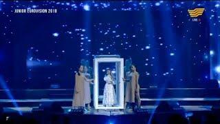 Данэлия Тулешова - «Өзіңе сен» (К.Даирова,А.Кузьменков И.Лопухов,): Junior Eurovision 2018