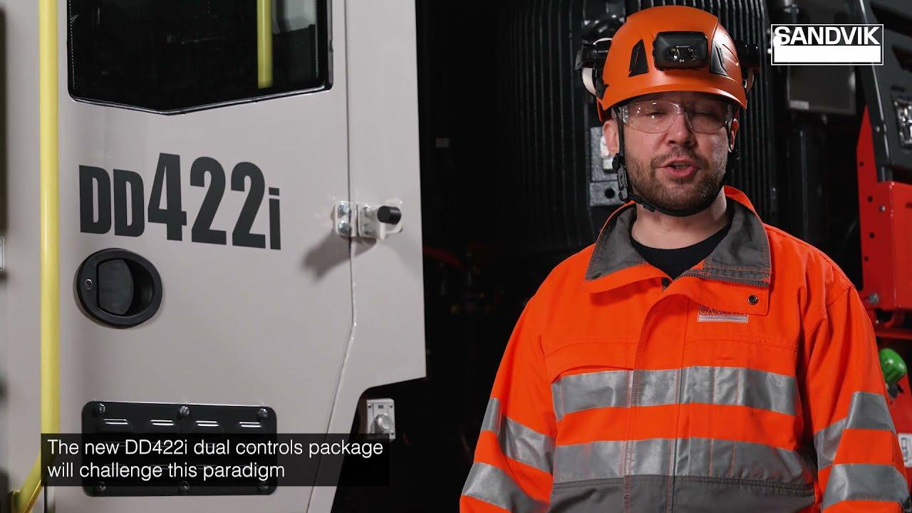 Sandvik DD422i Dual Controls Package Walkaround