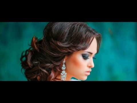 Прически на средние волосы на свадьбу для гостей фото