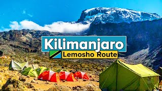 Climbing Mt Kilimanjaro via Lemosho Route Tanzania Documentary in 4k