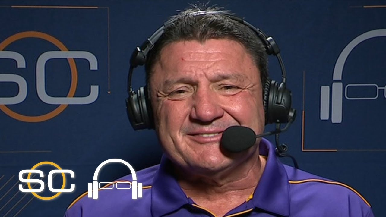 Ed Orgeron: Joe Burrow is one of LSU's greatest, plans to celebrate with ham sandwich | SC with SVP
