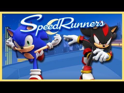 I HATE THIS GAME!! Sonic & Shadow Play Speed Runners PART 2 |