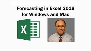 How to do forecasting with Excel 2016