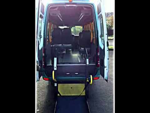 Microbus adaptado plataforma elevadora para sillas de - Ruedas para muebles ...