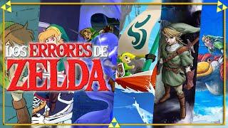 Lo PEOR de cada The Legend of Zelda