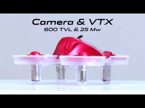 Inductrix + Camera and VTX Overview