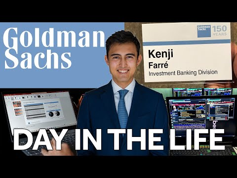 Day in the Life of a Goldman Sachs Investment Banking Intern NYC