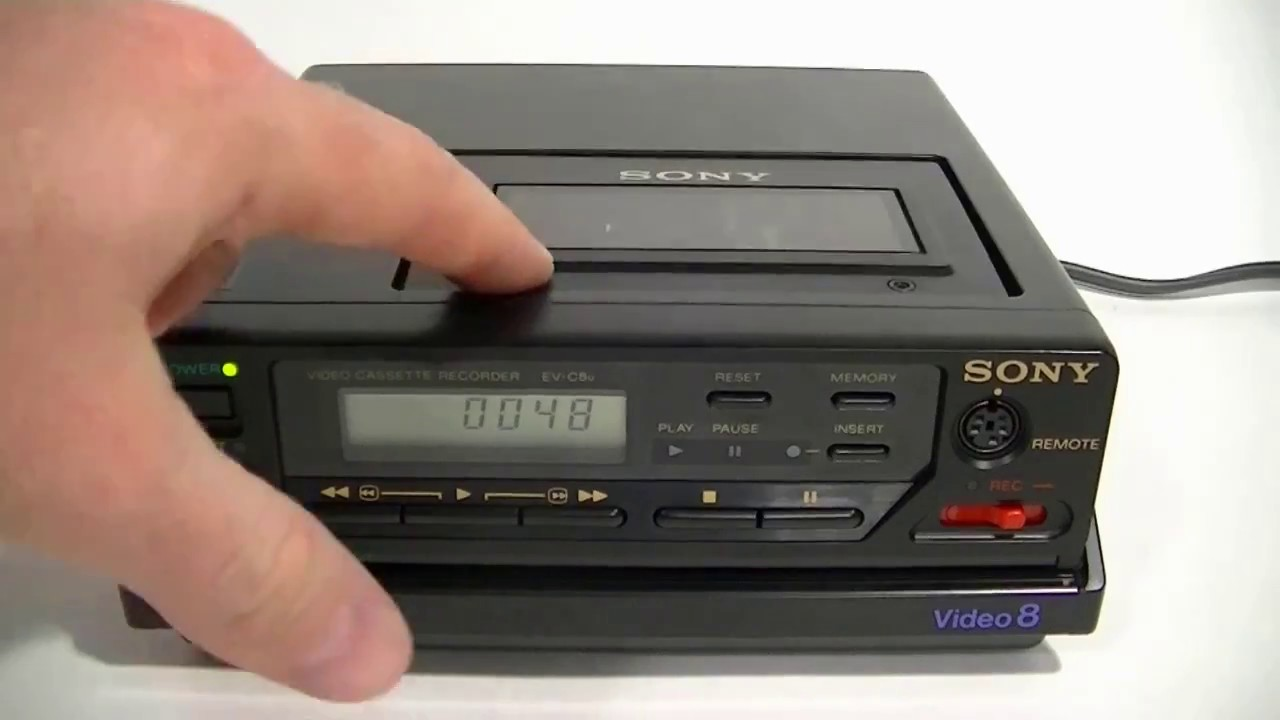 Sony EV C8u VCR Video 8mm Cassette Player Recorder For Sale