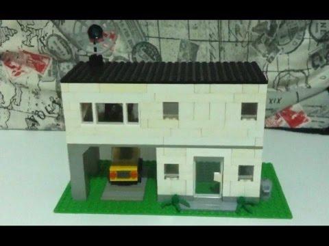 Como construir uma casa simples de lego parte 1 youtube - Casas miniaturas para construir ...