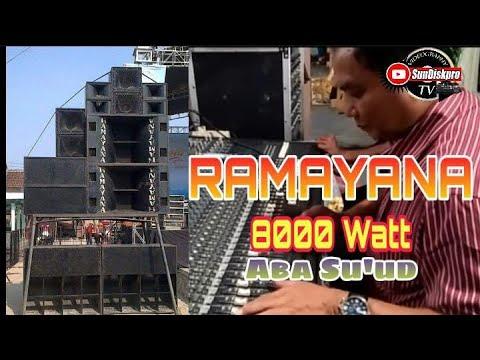 CEK SOUND RAMAYANA OM ARMEGA Live Dadapkuning Gresik( 08 April 2018 ) By SunDisk Production
