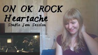 ONE OK ROCK - Heartache [Studio Jam Session]  Reaction 