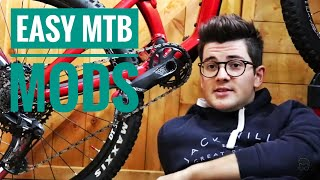 3 Cheap And Simple MTB Upgrades