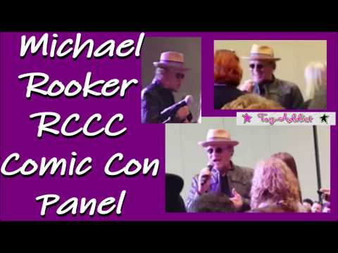 Michael Rooker Panel at Rose City Comic Con ~ Guardians of the Galaxy ~ Walking Dead ~ ToyAddict