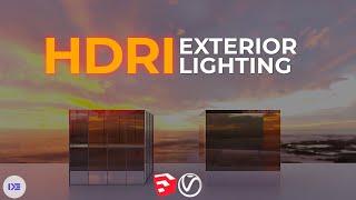 HDRI Exterior Lighting Setup i…