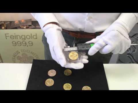 Sehr gut gefälschte Goldmünzen: Echtheitsprüfung für Krügerrand, Maple Leaf und American Eagle
