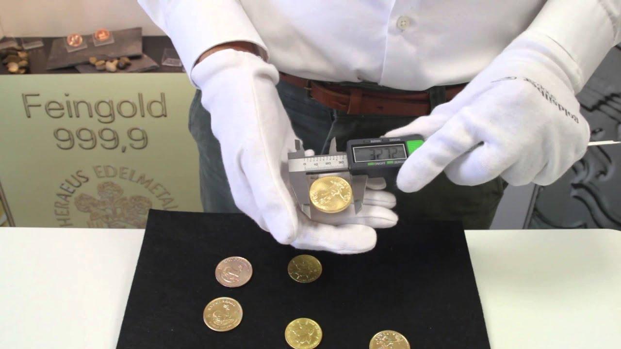 Sehr Gut Gefälschte Goldmünzen Echtheitsprüfung Für Krügerrand