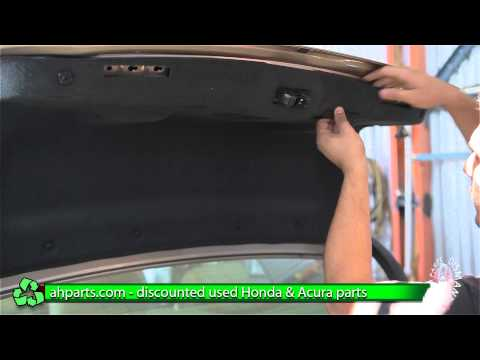 how to open bmw trunk manually