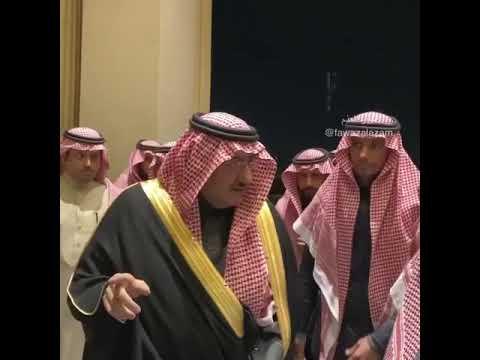 صاحب السمو الأمير سعد بن فيصل بن سعد حفظه الله بإحدى المناسبات من تصويري Youtube