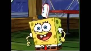 Spongebob sings rap god