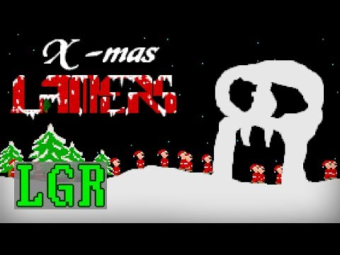 LGR - Xmas Lamers - DOS PC Game Review