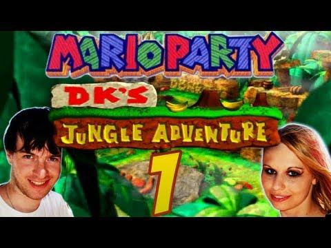 Let's Play Mario Party Part 1: Domtendo vs. Juli in Donkey Kongs Dschungel-Abenteuer
