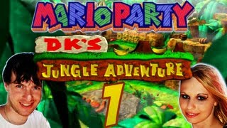 Let's Play Mario Party Part 1: Domtendo vs. Juli in Donkey Kongs Dschungel-Abenteuer